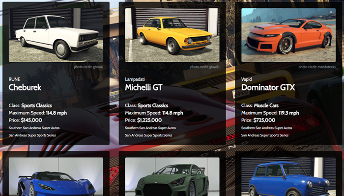 gta 5 online car prices