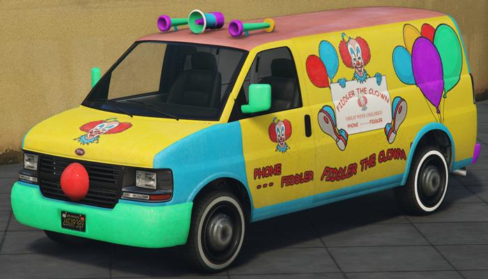Clown Van