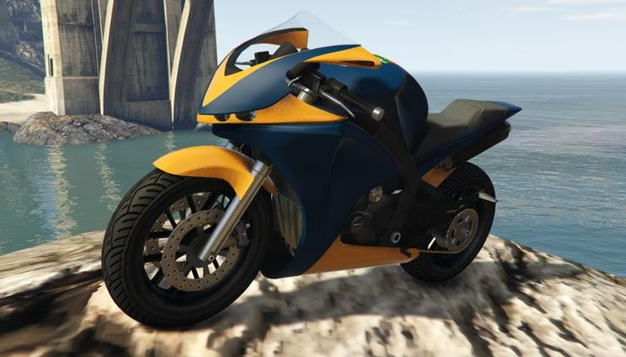 A Double T Gta Motorcycles