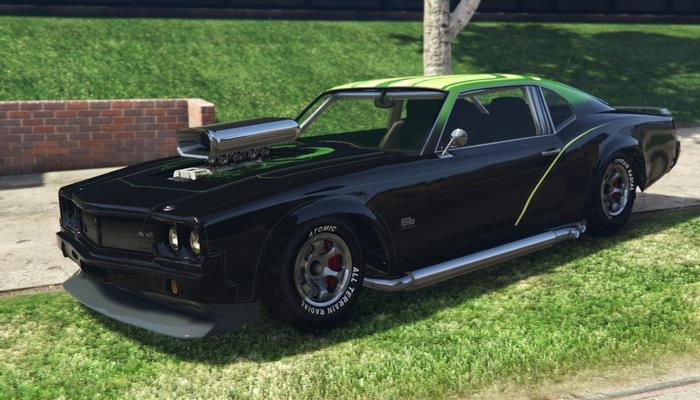 The Fastest Muscle Cars Gta 5 Rides